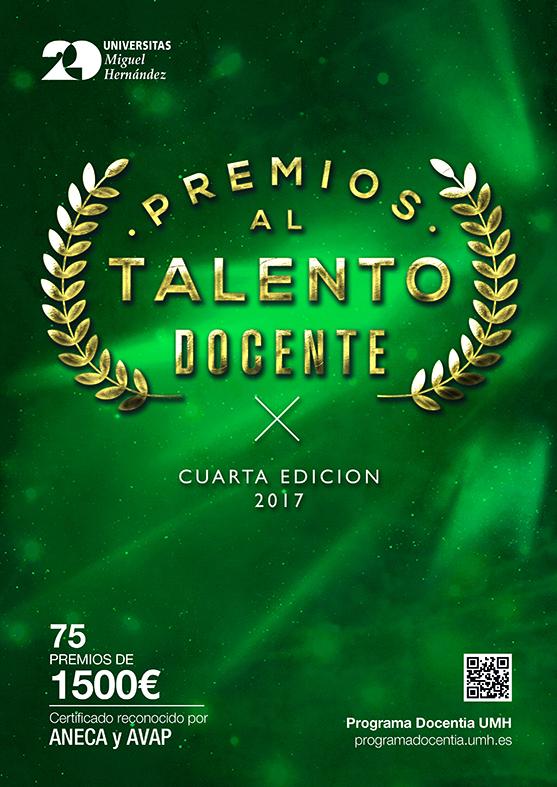CARTEL TALENTO VERDE 2017 web